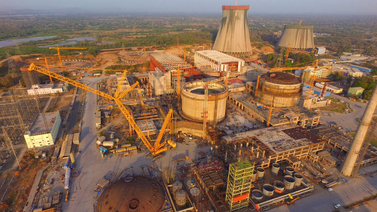 На энергоблоке № 1 АЭС «Руппур» (Бангладеш) возведен третий ярус внутренней защитной оболочки реакторного здания