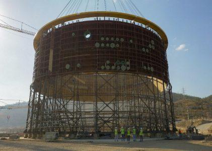 На энергоблоке № 1 АЭС «Аккую» (Турция) смонтирован второй ярус внутренней защитной оболочки реакторного здания