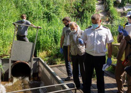 СХК профинансировал выпуск рыбной молоди в реку Томь