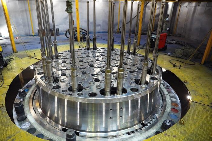 На «Атоммаше» успешно прошла контрольная сборка реактора для первого энергоблока строящейся АЭС «Руппур» (Бангладеш)