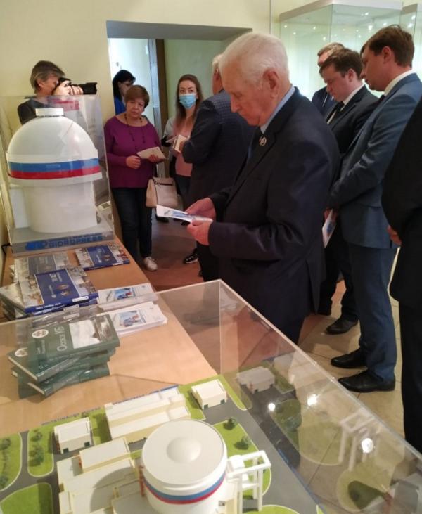 Предприятия Росатома открыли совместную выставку