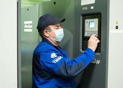В ПАО «МСЗ» модернизировали систему воздухоснабжения основных цехов