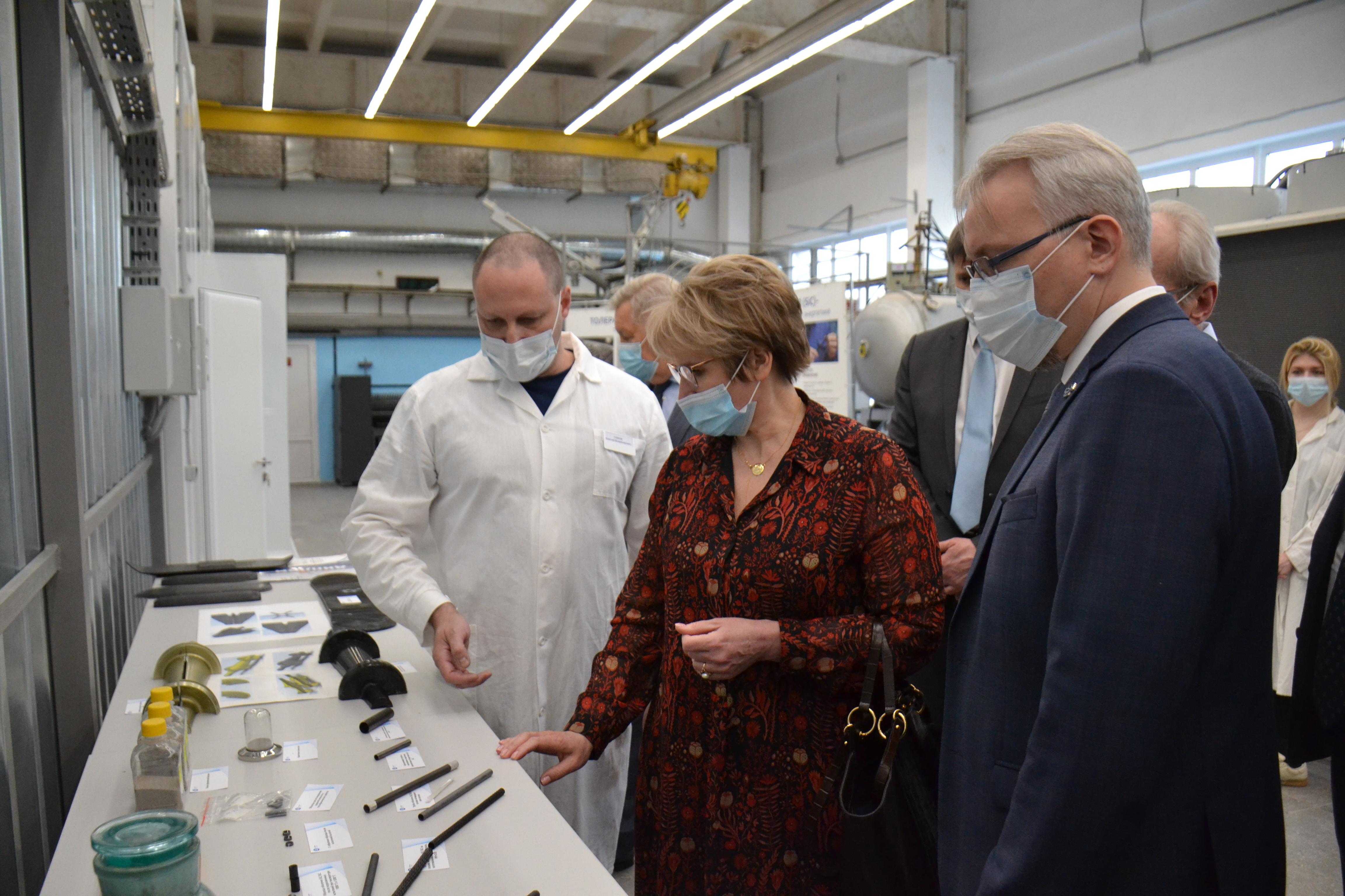 Во ВНИИНМ введены новые участки для разработки высокотемпературных сверхпроводников и композитных материалов